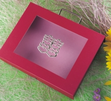 手提聘金(禮俗盒)-紅色