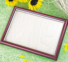 木質A4獎狀框