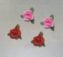 玫瑰布花-小(紅)