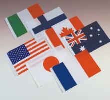 1號萬國旗(3色以下)