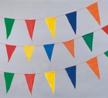 三角旗(塑膠)