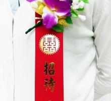單朵石斛蘭+儀條大紅